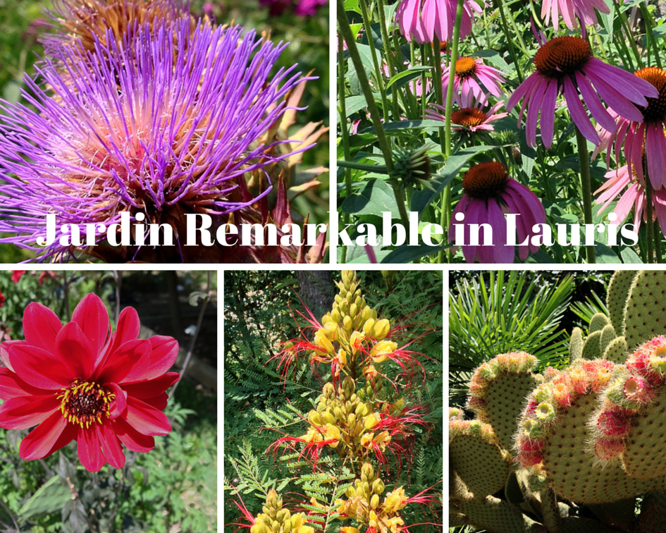 The Colours of Lauris Le Jardin - Couleur Garance #Lauris #Provence