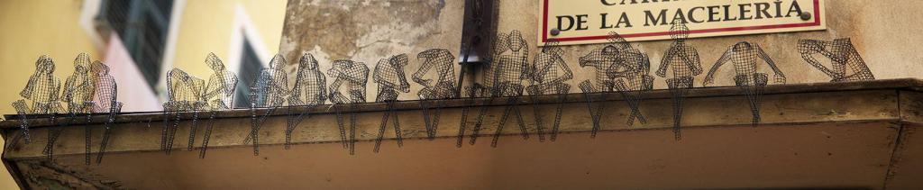 Wire figures #Nice #CotedAzur