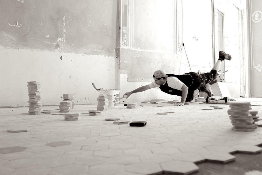 Restauration des sols de l'Hotel de Caumont @culturespaces #AixenProvence