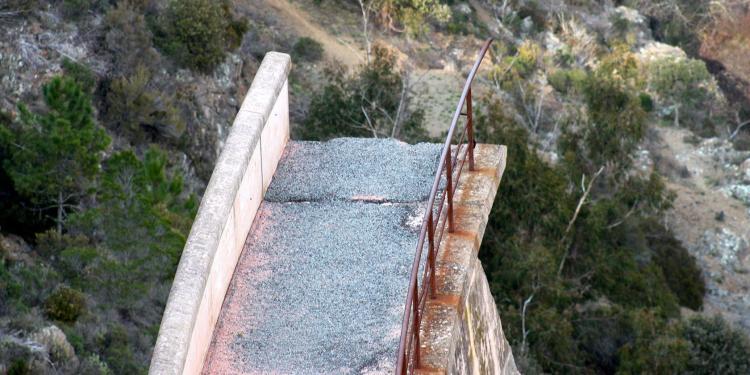 Barrage de Malpasset Frejus #Malpasset #Frejus #Provence @PerfProvence
