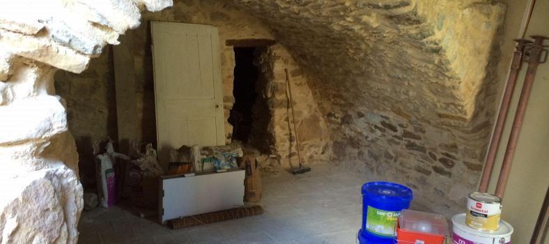 Before the renovation #LaBreche @alabreche_annie