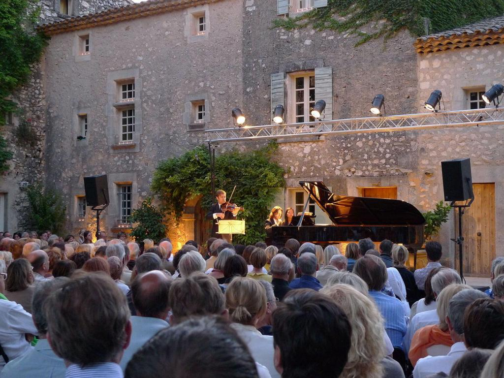 Dancing music and art in provence for Concert salon de provence