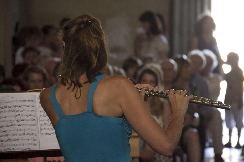 Flute concert Eygalieres #Music #Eygalieres @PerfProvence