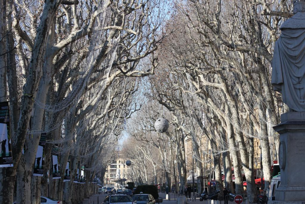 Cours Mirabeau Aix-en-Provence @PerfProvence