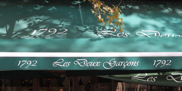 Les Deux Garcons Cours Mirabeau #AixenProvence @PerfProvence