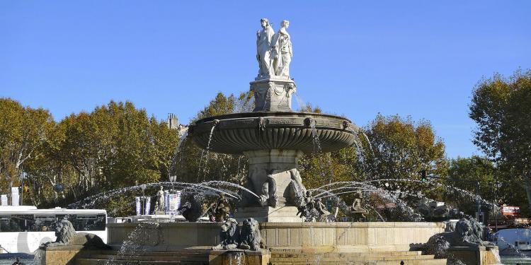 La Rotonde #AixenProvence #Provence @PerfProvence