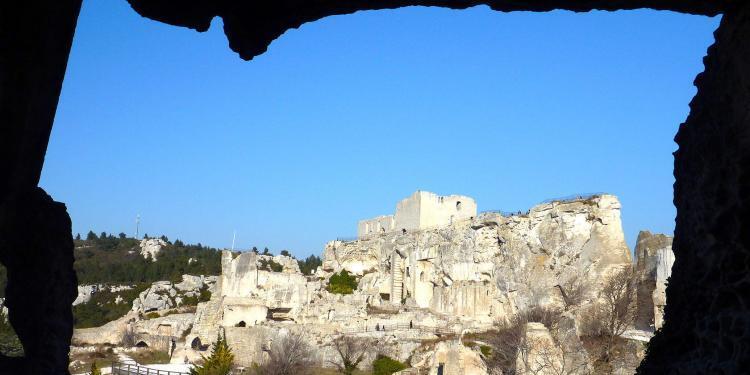 Les Baux Views de Provence
