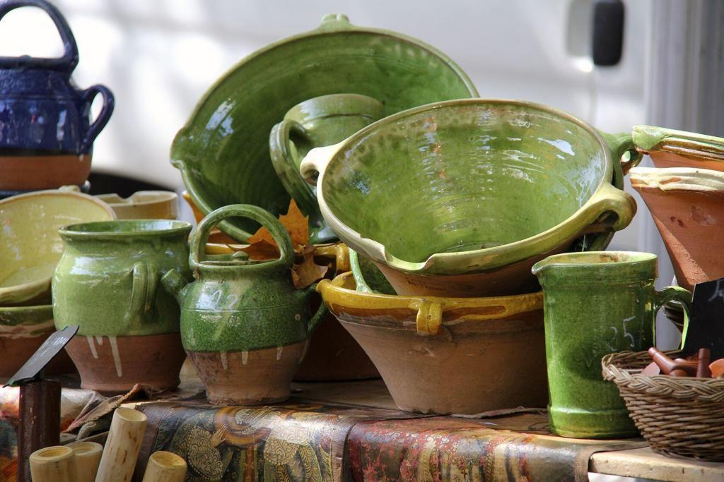 Market Pottery #Provence #Gifts @PerfProvence
