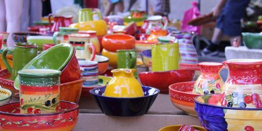 Provence Market Cucuron #Cucuron #Luberon #Provence @PerfProvence