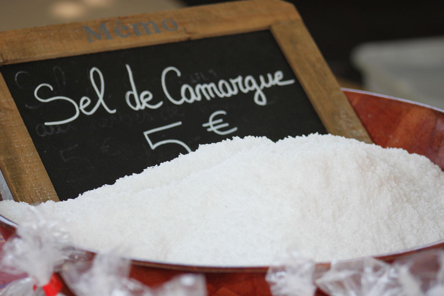 Souvenirs From Provence Sel de Camargue Markets Salt Fleur de Sel