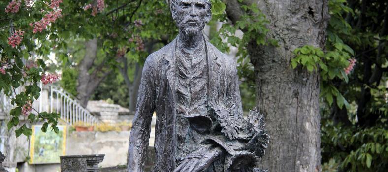 Vincent Van Gogh's St Remy Statue