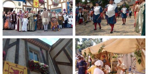 Fête de la Renaissance in Villeneuve Loubet @AccessRiviera