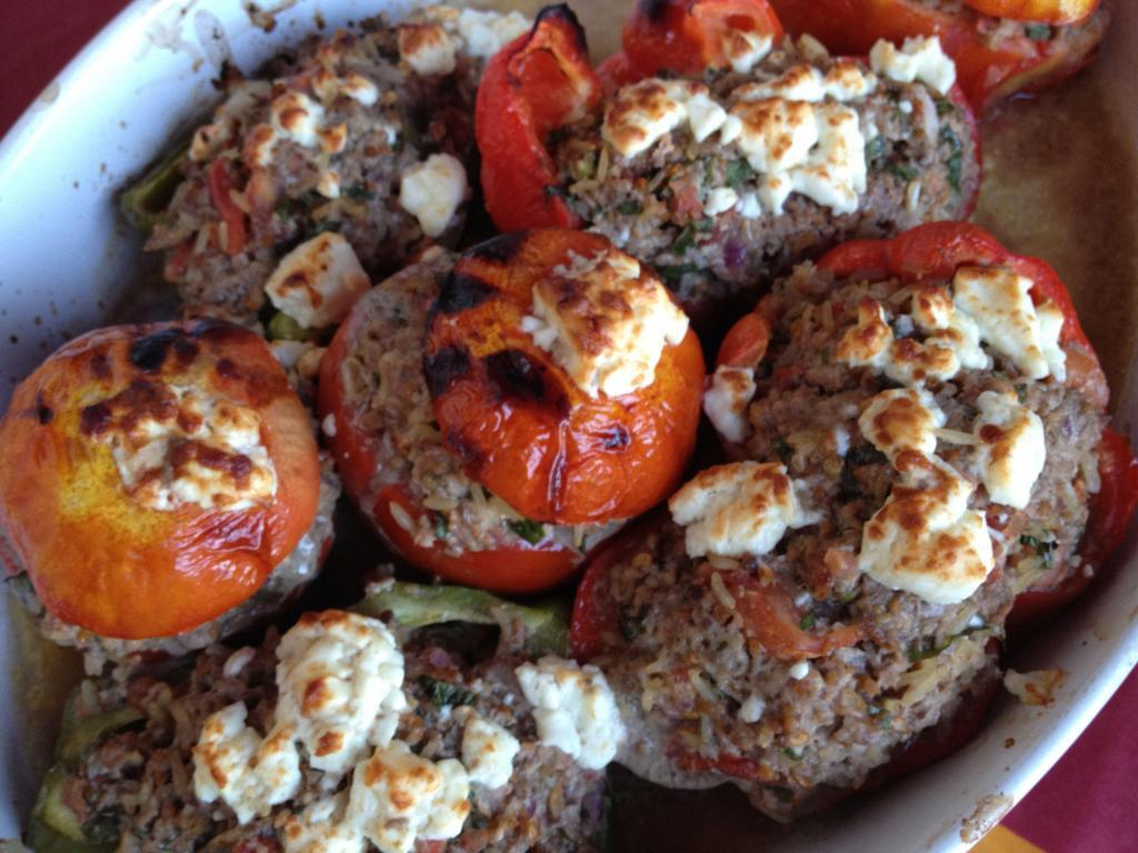 stuffed tomatoes #Recipe @ElizabethBard