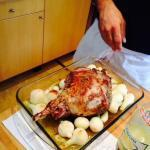 Roasted Leg of Lamb @ProvenceCook Provence Recipes
