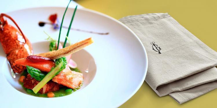 Assiette Gastro Carre du Palais #Avignon #RhoneWines @InterRhone