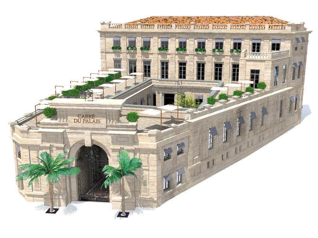 Concept Carre du Palais #Avignon #RhoneWines @InterRhone