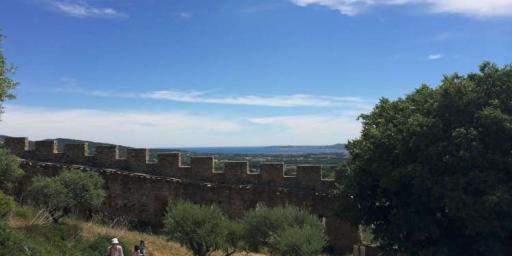 Grimaud Castle #Grimaud #CotedAzur @DreamyProvence
