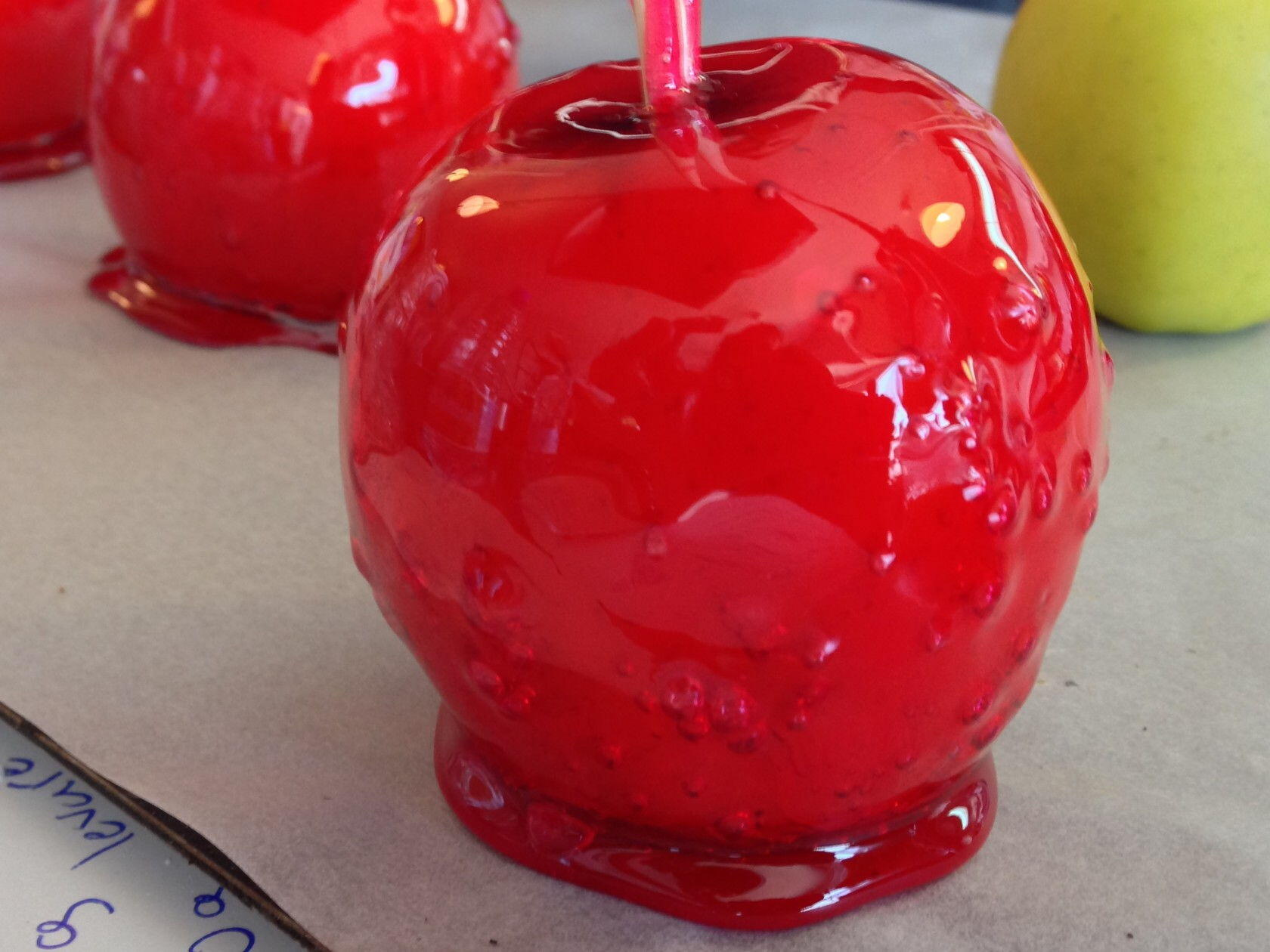 pomme d'amour Candy apple Provence
