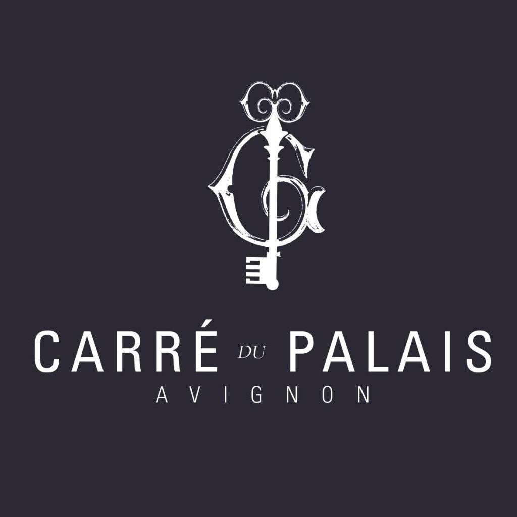 Logo Carre du Palais #Avignon #RhoneWines @InterRhone