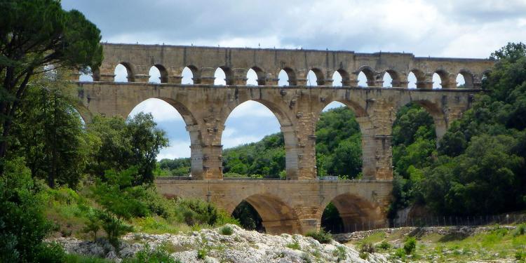 Pont du Gard Kayaking Provence @PerfProvence