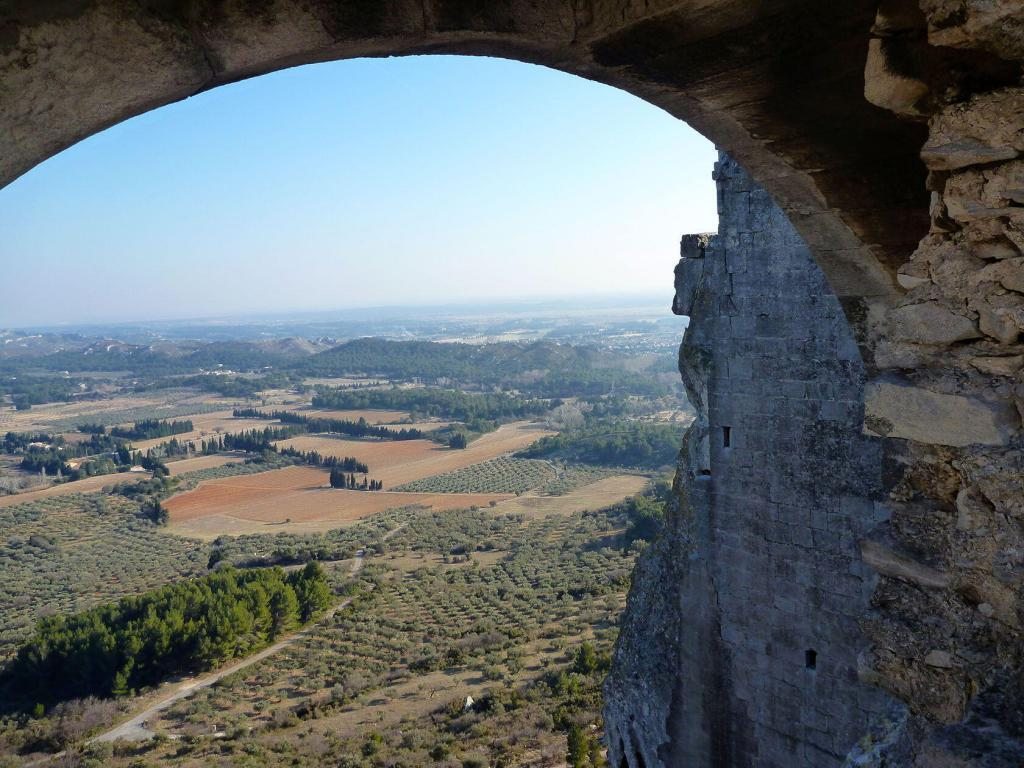 Views from Les Baux de Provence @PerfProvence