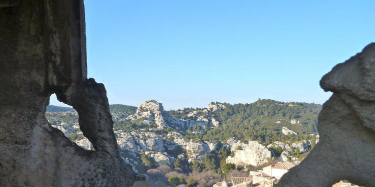 Views from Les Baux @lesBaux #LesBaux #Provence @PerfProvence