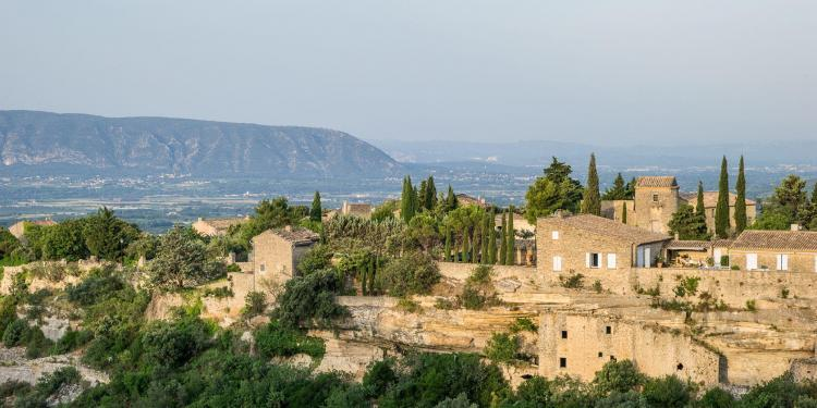Views from la Bastide de Gordes Gordes Hotels