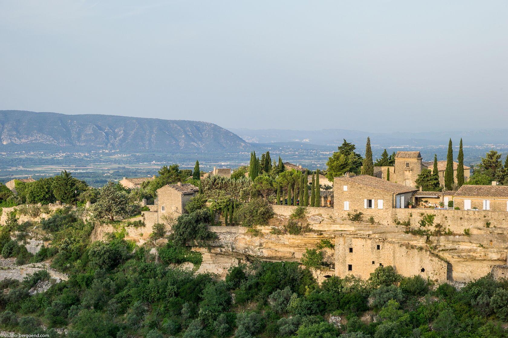 Views from la Bastide de Gordes Gordes Hotels