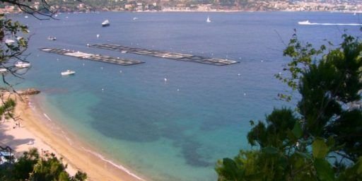 Beach at Pointe de lAiguille @FIBITee #CotedAzur
