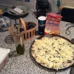 Fig pizza ingredients #Recipe #Figs #Pizza @Hildast