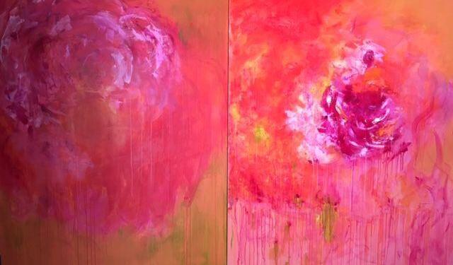 Barbara painting @BarbaraPitcher