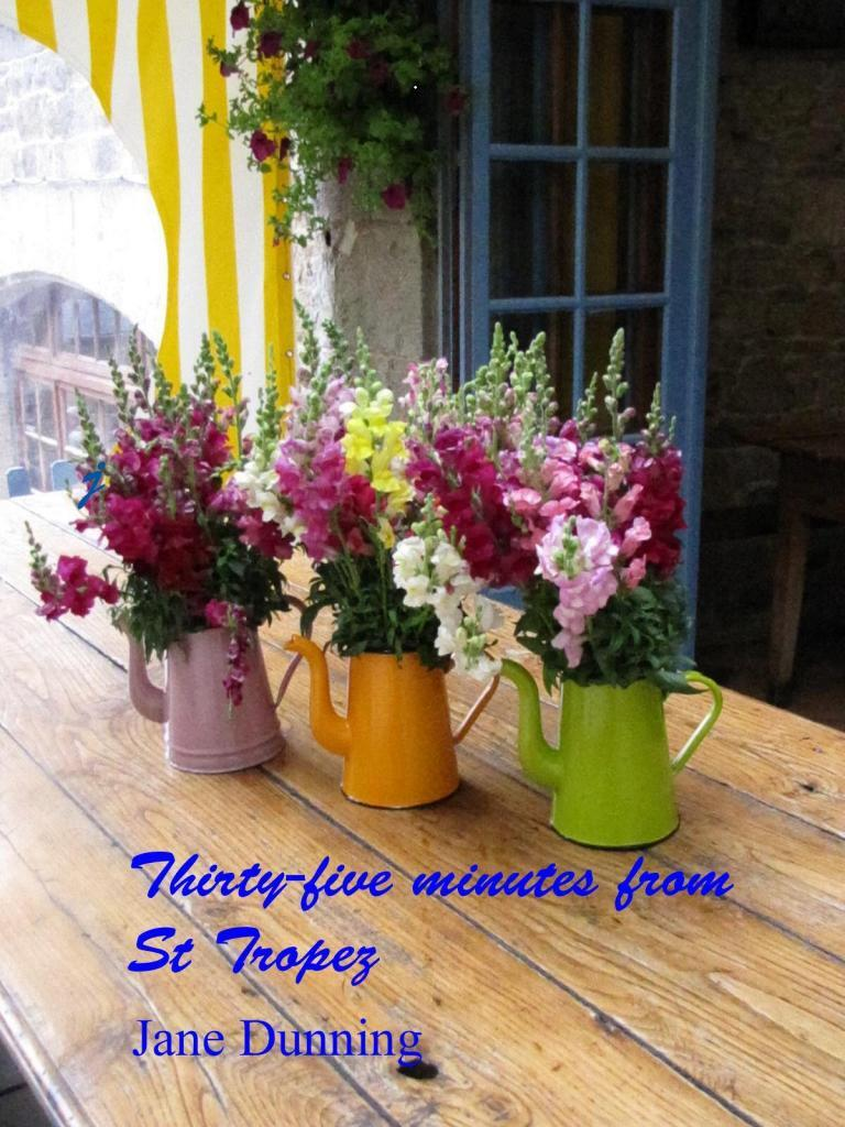Kindle book cover flowers @JaneDunning