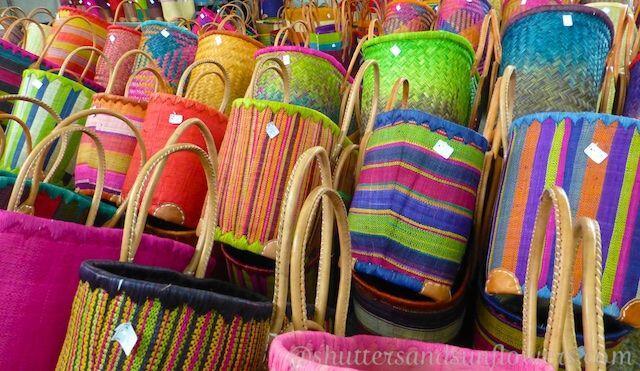 More baskets #Lourmarin #market #Provence @ShutrsSunflowrs
