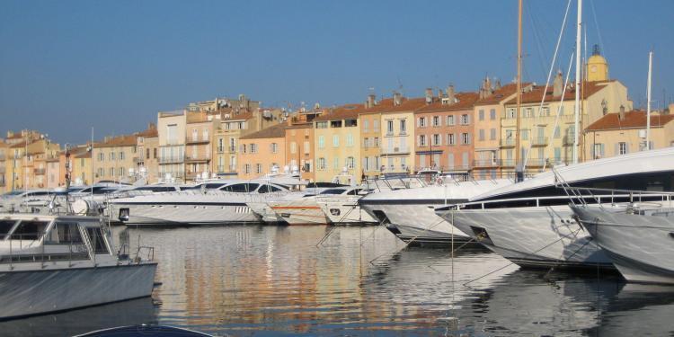 St Tropez port #StTropez @JaneDunning