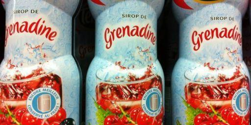 French grenadine bottles #France #Drinks @FibiTee
