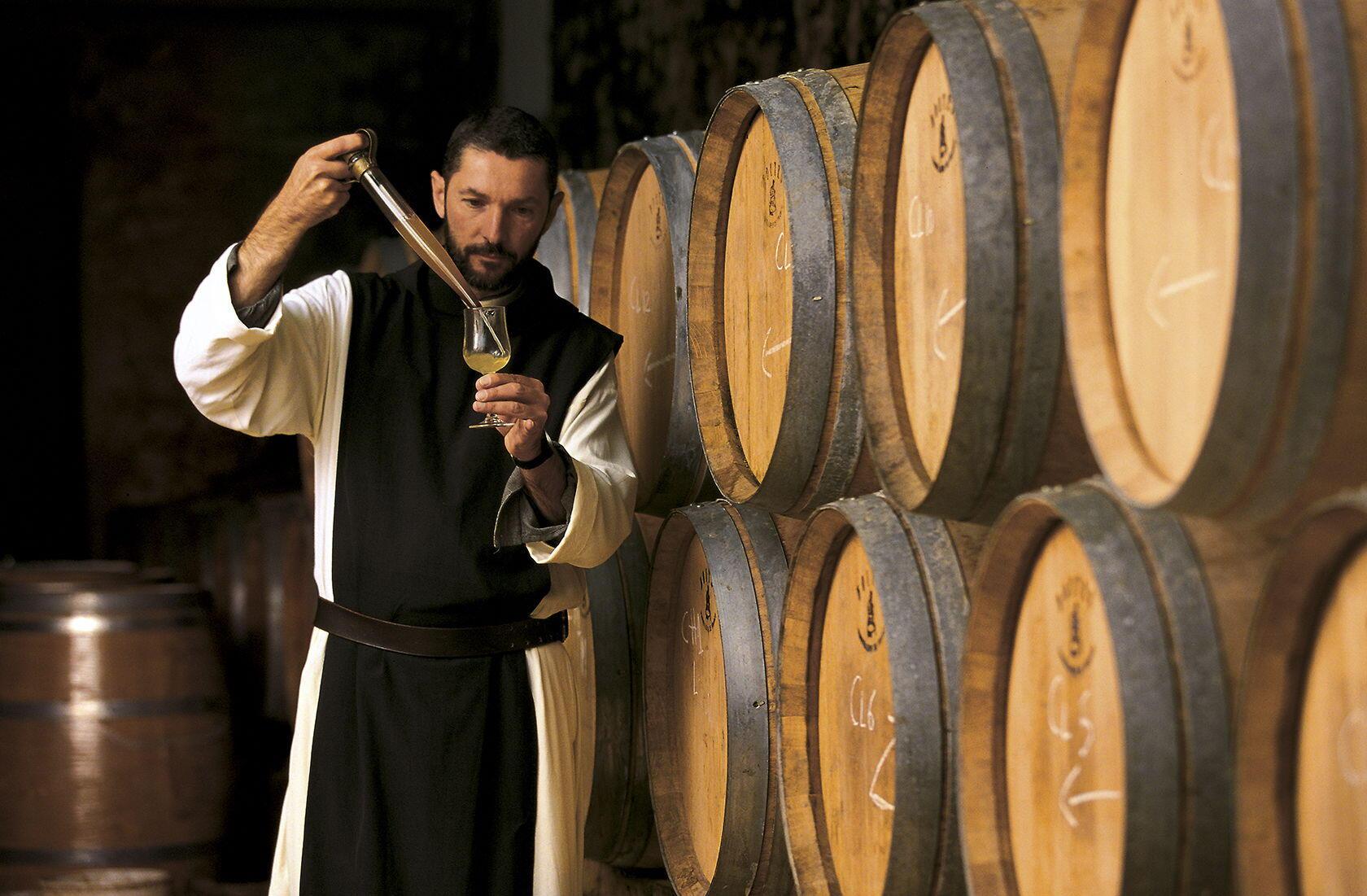 Les Caves Abbaye de Lerins Cote d'Azur L'ile Saint Honorat