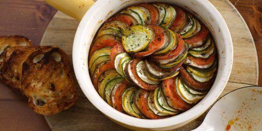Mediterranean Fish Tian de legumes Vegetables @ProvenceCook