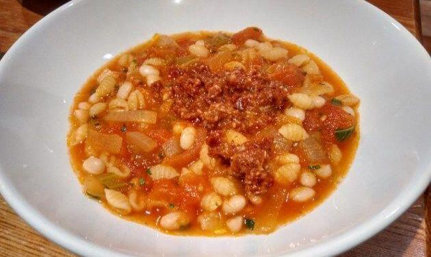 Tomato Soup au Pistou #Soup #Recipe @PestoPistou