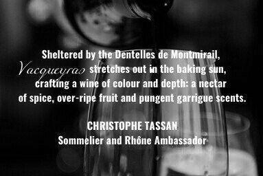 Vaqueyras Wine #RhoneValleyWines @JillBarth