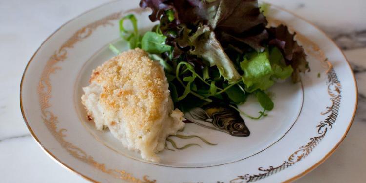 Brandade Souffle Brandade de Morue Nimoise Cook'n with Class #Uzes @Cooknwithclass