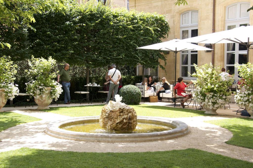 Hotel de Caumont Garden @Culturespaces #AixenProvence @PerfProvence #HoteldeCaumont