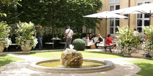 Hotel de Caumont Garden Perfectly Provence Moments