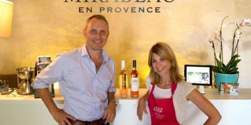 Jeany and Stephen Cronk @MirabeauWine #Boutique #WinesofProvence