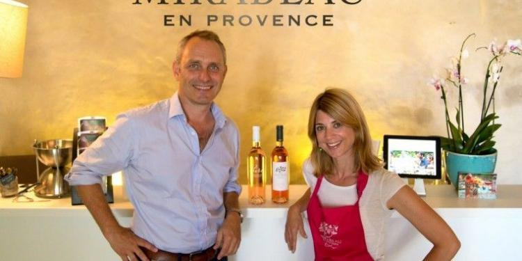 Jeany and Stephen Cronk @MirabeauWine #Boutique #WinesofProvence