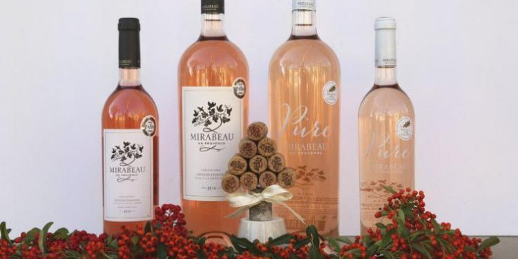 Mirabeau Wine Christmas magnum #WinesofProvence @MirabeauWine