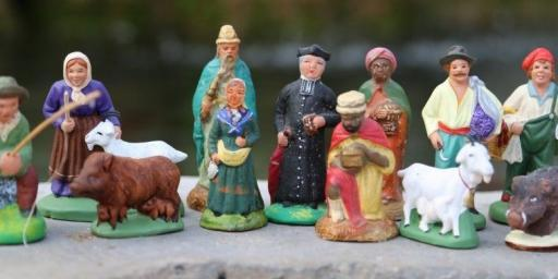 Provence santons figurines Provence History Christmas