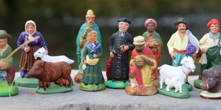 Provence santons figurines #ProvenceHistory #Christmas @MirabeauWine
