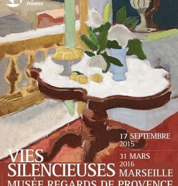 Flyer Vies Silencieuses @RegardsProvence