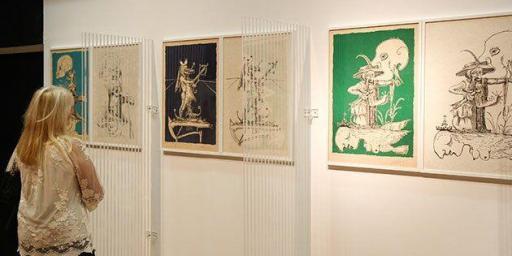 Dali exhibition, Espace Miramar #Cannes @AccessRiviera