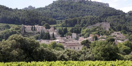 Gigondas Village Vaucluse Cote du Rhone Exploring Rhone Valley Wines